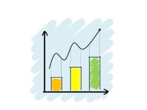 Diagram representing the increasing inflation rate